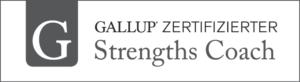 Logo Zertifizierter Gallup Strengths Coach